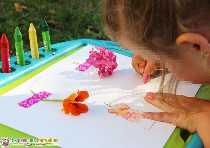 Une activité créative qui invite les enfants à observer la nature et les…