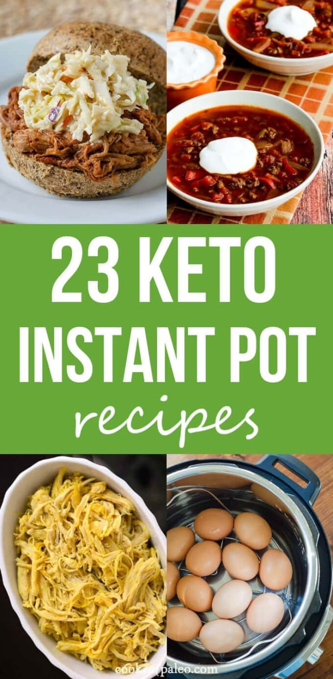 These keto Instant Pot recipes will make getting healthy dinners on the table so…