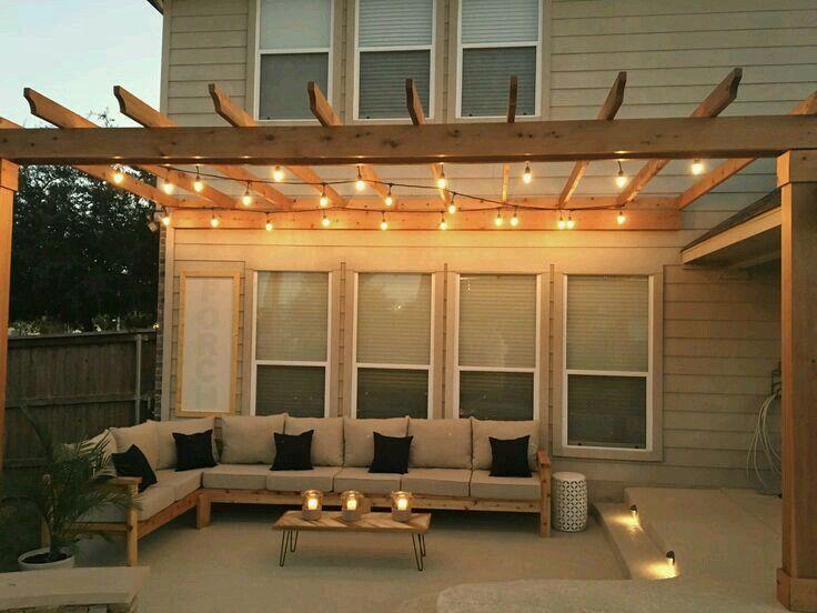 Sonnenschutz Terrasse, Wohnen, Palettenprojekte, Paletten Ideen,  Heimwerkerprojekte, Projekte Im Freien, Zementpflanzbehälter, Zement  Terrasse, Pergola Dach