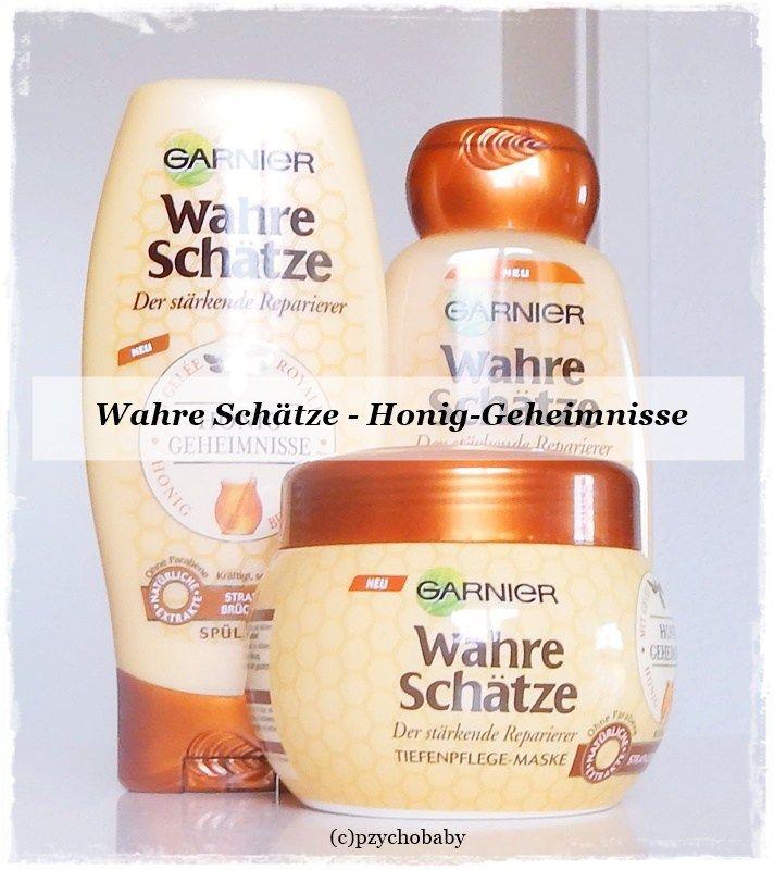 Garnier Wahre Schätze Honig Geheimnisse