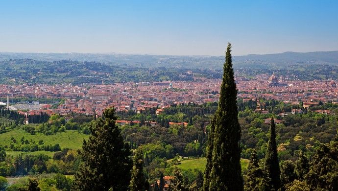 Villa Fiesole: High up in the Florentine hills, Villa Fiesole peers over the Tuscan capital.