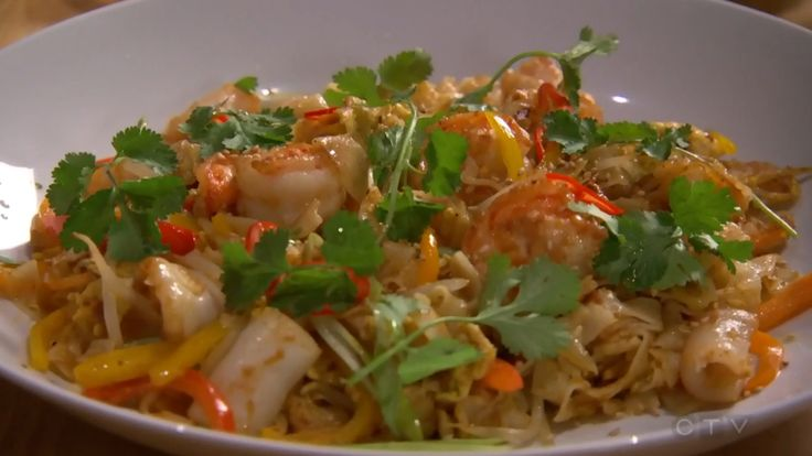 MasterChef Canada - Alvin Leung's Singapore-Style Noodle Stir-Fry with Seafood