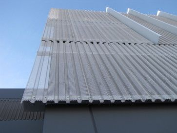 Perforated Corrugated Panels modern