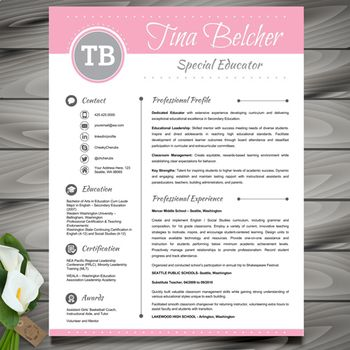 Resume Template + Cover and Reference Letter - MS PowerPoi