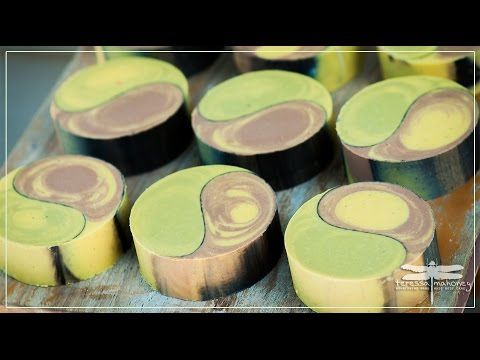 Making Carrot and Acai Berry Facial Soap - YouTube