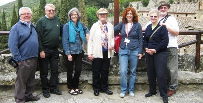 Private guided tour of Le Celle Hermitage above Cortona, Tuscany