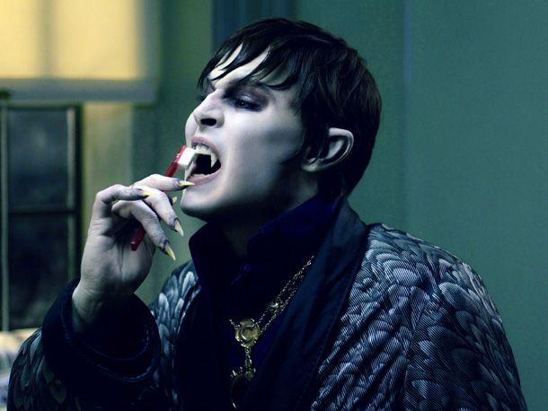 vampire dental hygiene.