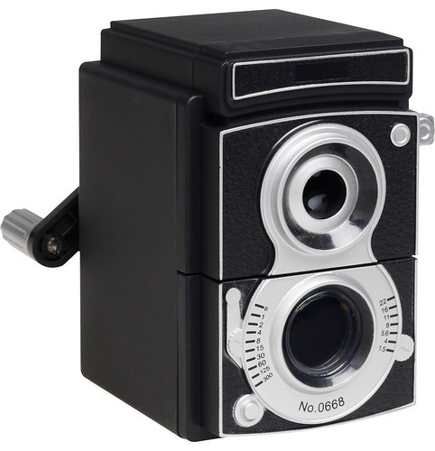 Camera Pencil Sharpener - eclectic - desk accessories - - by Paper Source