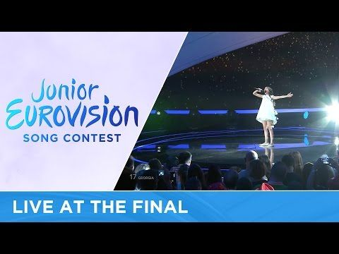 Mariam Mamadashvili - Mzeo (Georgia) LIVE Junior Eurovision 2016 - YouTube