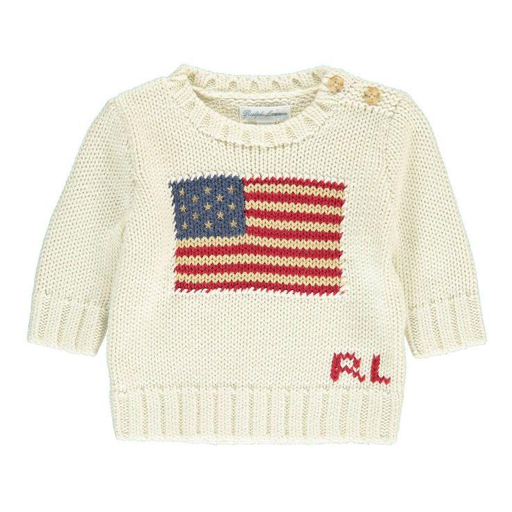 Pullover Bandera Americana Bebé-product