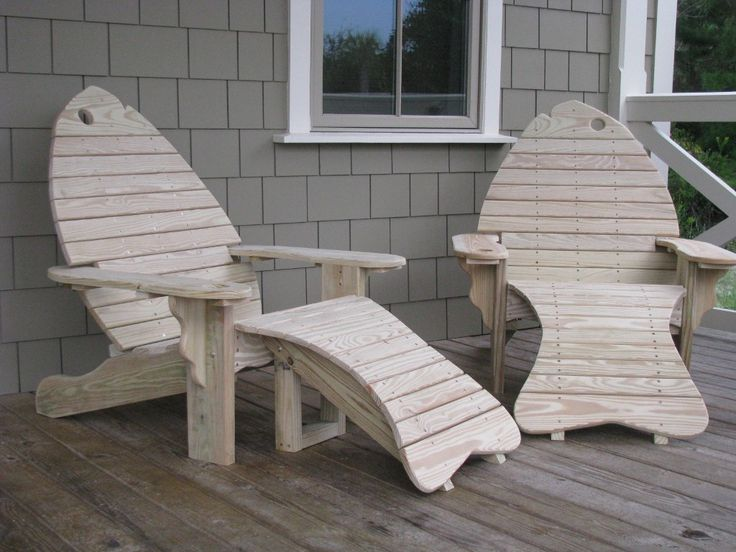 17 Best Images About Adirondack Fish Chairs On Pinterest