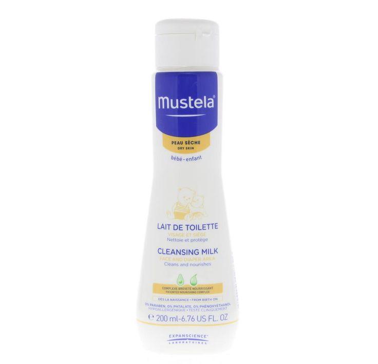 Mustela Bébé Lait de Toilette Melk Droge Huid 500ml  Mustela Bébé Lait de Toilette - Toiletmelk. Specifiek geformuleerd voor een gebruik vanaf de geboorte is de Toiletmelk ideaal voor de toiletverzorging van uw baby. De huid van het gezicht en het zitvlak is perfect gereinigd in alle zachtheid en zonder uitdroging. De huid is gehydrateerd en de hydrolipidische film wordt behouden dankzij een complex van plantaardige oliën die voeden en verzachten. Dankzij zijn nieuwe formule verrijkt met…
