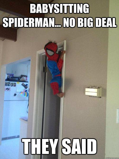 HahahaSpiderman, Spiders Man, Children, Humor, Future Kids, Funny Commercials, Angels, Babysitting, Little Boys