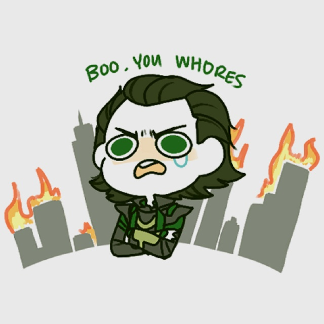 OH Loki why can't i stop laughing at this?