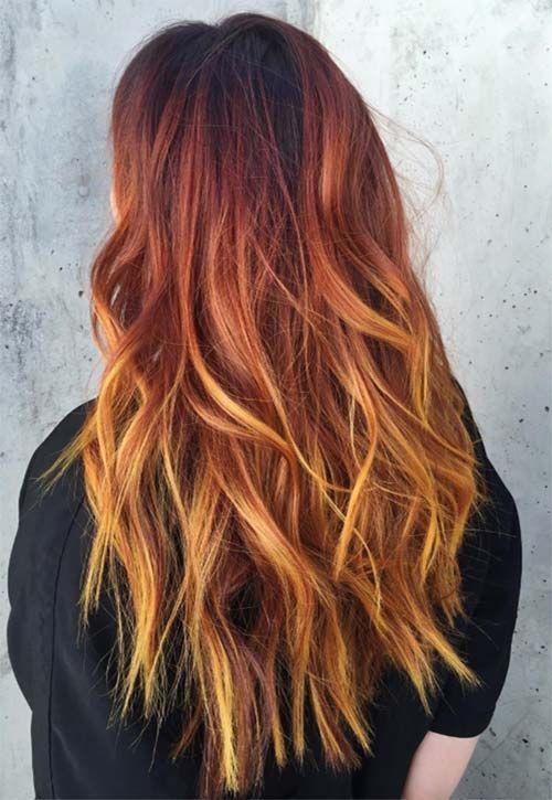 Ombre Hair Farben