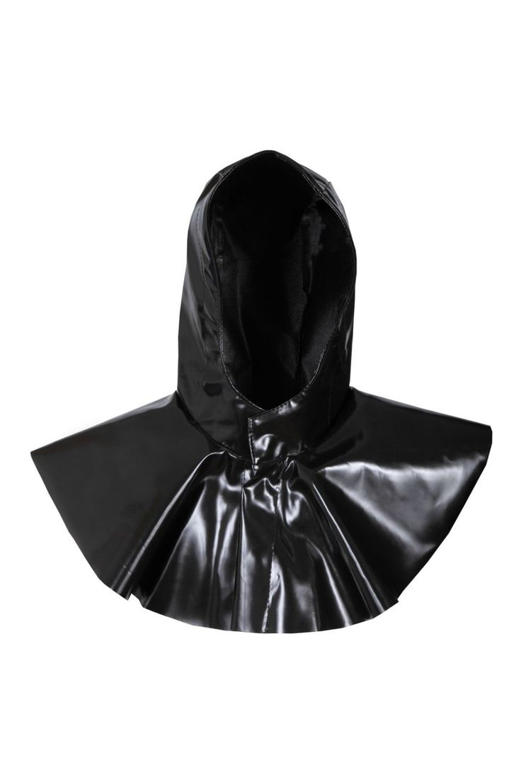 WATERPROOF ACID-LYEPROOF HOOD Model: 412/C The product is made of fabric called Plavitex Acid - polyester coated of PVC both sides. It's fastened with hidden snaps under flap. The product protects workers against concentrated acids, alkalis and saline solutions (H2SO4, HNO3, HCL, NaOH). Thanks to double welded high frequency seams the product also protects against rain and wind. The product conforms with the EN ISO 13688, EN 343 and EN 14605 standards.
