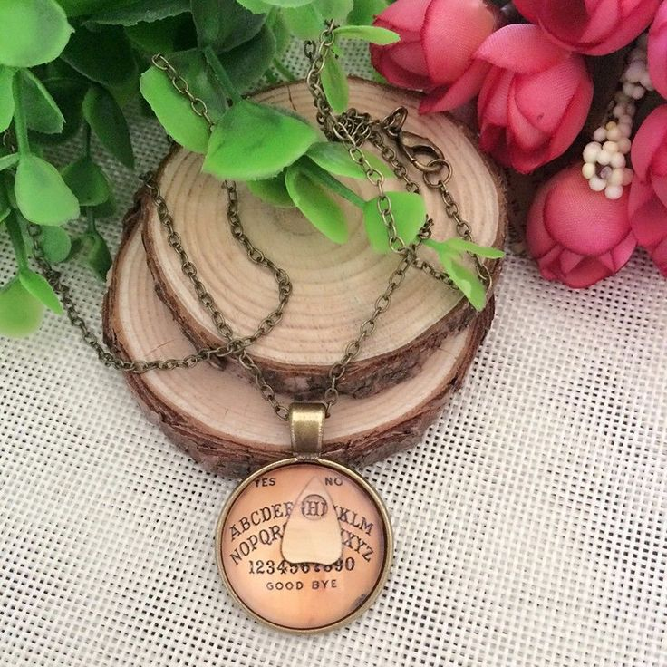 Antique Vintage Style Gothic Ouija Board Pendant Necklace Jewelry Halloween UK #Unbranded #NecklacePendant offered by joecharlie on eBay