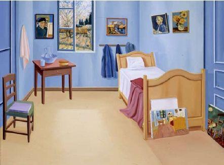 31 best Art Parody: Bedroom in Arles images on Pinterest | Bedroom ...