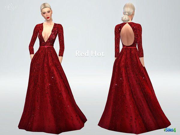 Sims 4 prom dress length
