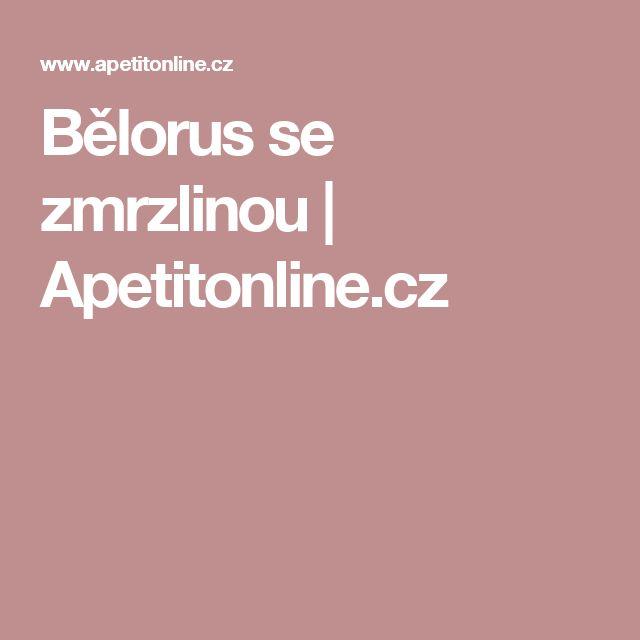 Bělorus se zmrzlinou | Apetitonline.cz