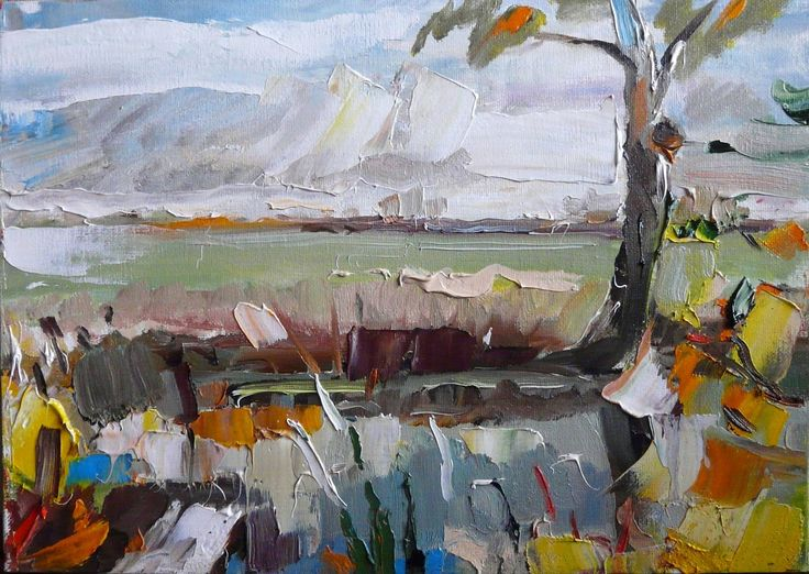 Oil painting for sale landscape expressionism