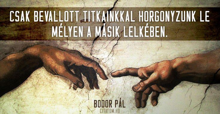 Bodor Pál #idézet
