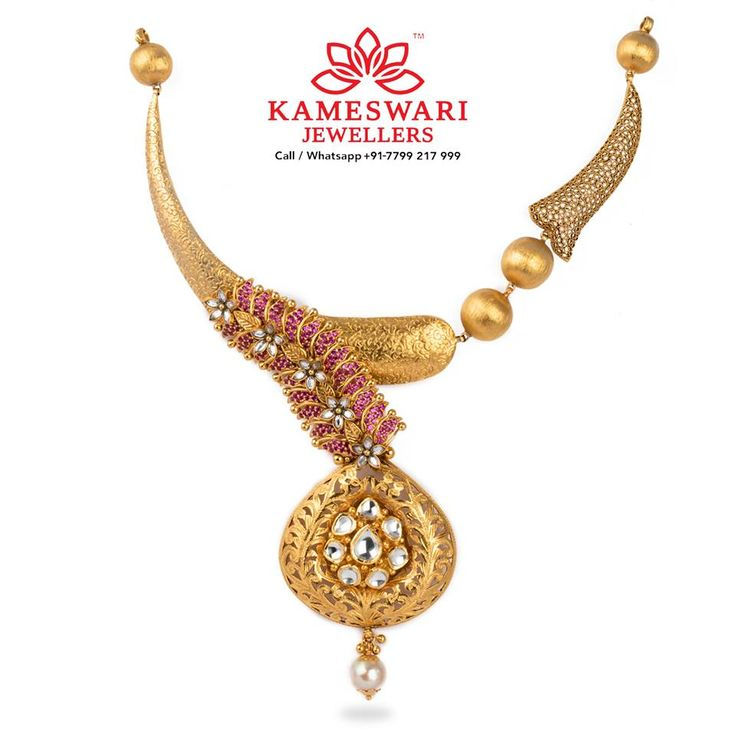 #Designer Antique Jewellery with Colored Swarovski Stones gives a unique blend. Free #Insured #DELIVERY across India. Also ships to #USA #CANADA #AUSTRALIA #UK