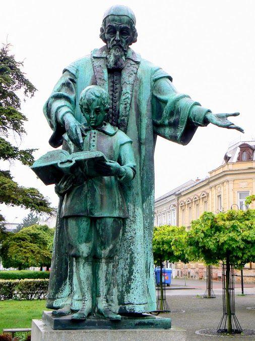 - Jan Amos Comenius - Kroměříž ........ Czech Republic ....