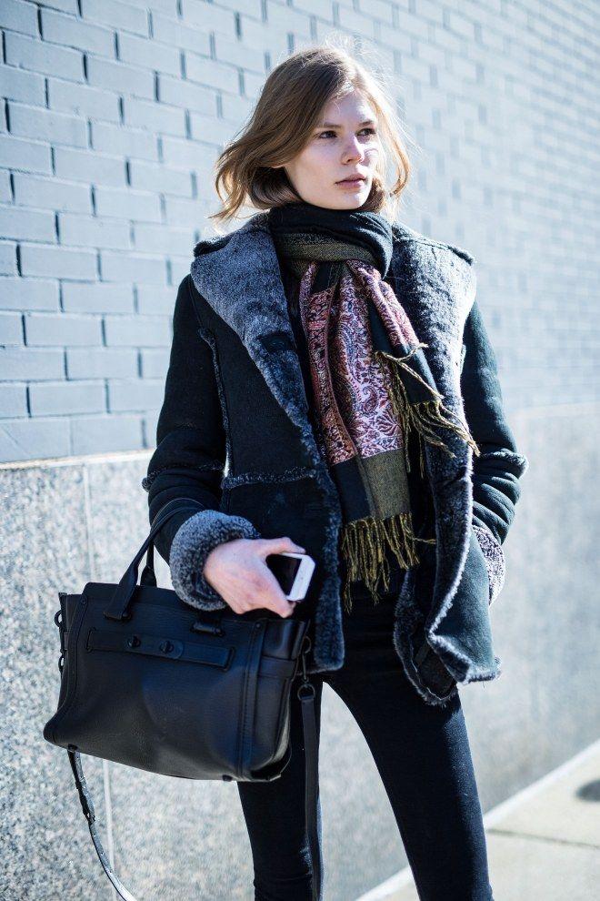 Looks con abrigo, ¿quién dijo frío?