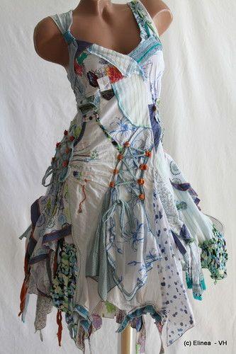 Juju & Christine Patch-Hippie-Flower dress... summer!