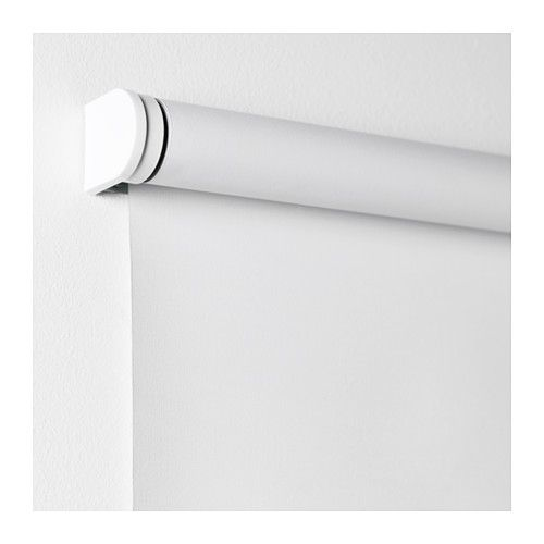TUPPLUR Block-out roller blind IKEA The blind is cordless for increased child safety.