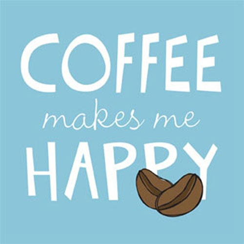 Coffee Makes People Happy...& studies prove it. (Click through to read more!)