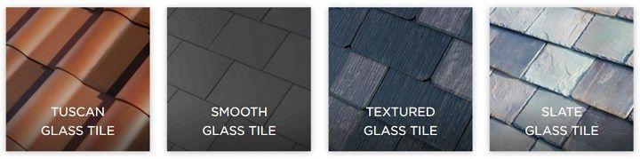 Los 4 estilos de tejas, que tendrá el techo solar TESLA, integran las células fotoeléctricas y están fabricadas a través de un proceso de hidroimpresión, con vidrio templado que es 3 veces más resistente que las tejas comunes.