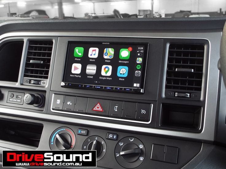 Hyundai Mighty EX8 with Apple CarPlay installed by