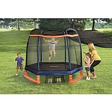 """Little Tikes - 7' Trampoline with Enclosure - Little Tikes - Toys""""R""""Us"""