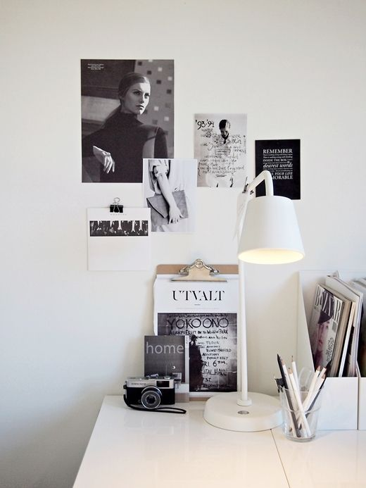 Workspace inspiration wall pictures