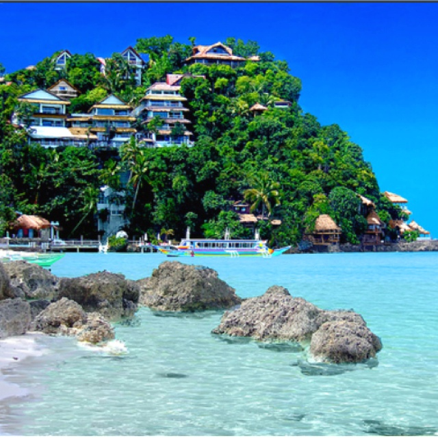 Beautiful Nami Resort In Boracay Philippines Named One Of The Most Famous Beaches World With Great Vacations Spots