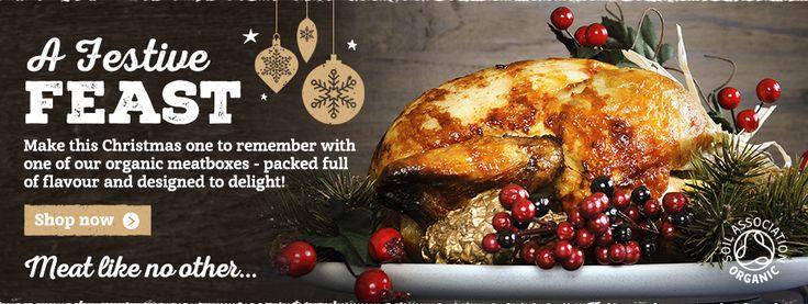 #OrganicChristmas Well Hung Christmas Meat http://www.organicholidays.com/at/1762.htm