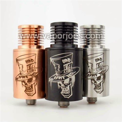 Vapor Joes - Daily Vaping Deals: CRAZY RDA:  THE MAD HATTER STYLE RDA - $ 10.67