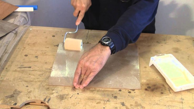 How To Cold Press Wood Veneering.