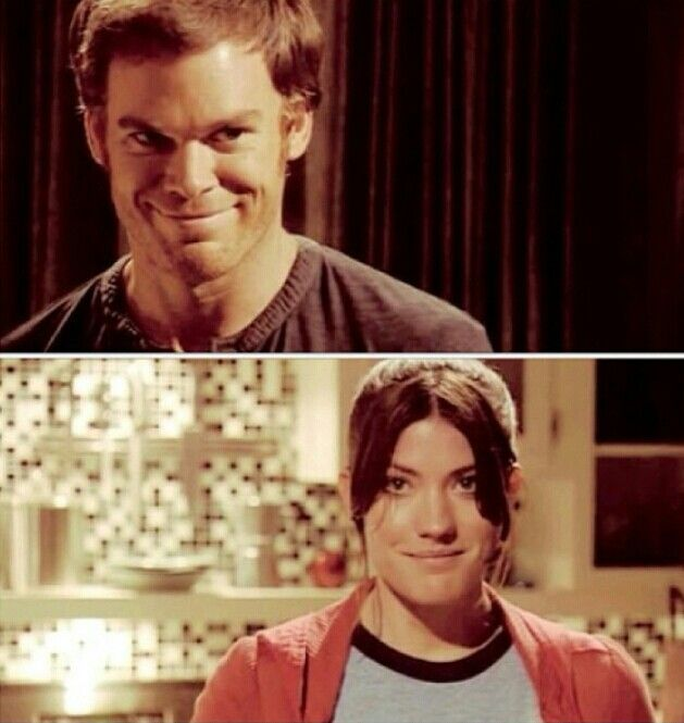 dexter and deb relationship real life