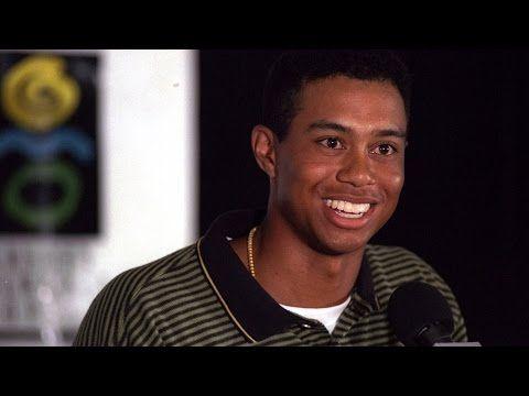 PGA TOUR: Tiger Woods; 1996 'Hello World' press conference ...