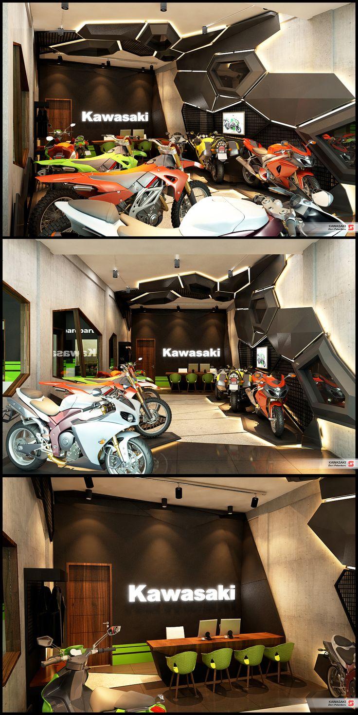 Kawasaki Gallery Duri, Riau Indonesia
