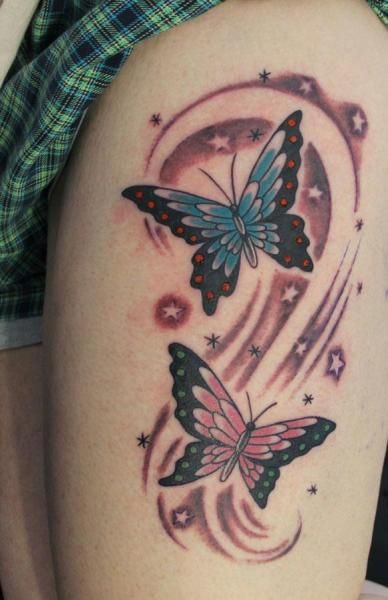 17 best ideas about butterfly thigh tattoo on pinterest butterfly tattoos thigh tattoos and. Black Bedroom Furniture Sets. Home Design Ideas