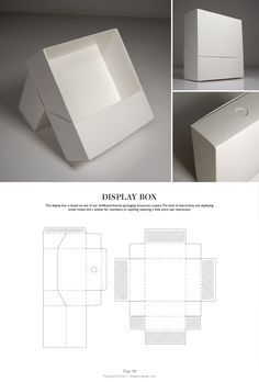 Display Box - Packaging & Dielines: The Designer's Book of Packaging Dielines