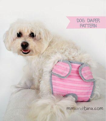 free printable dog diaper pattern - Google Search