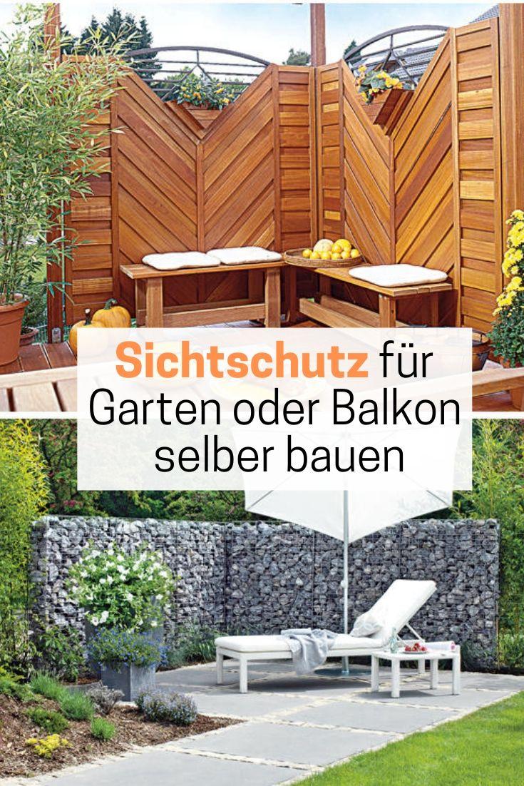 Sichtschutz Selber Bauen Sichtschutz Garten Selber Bauen