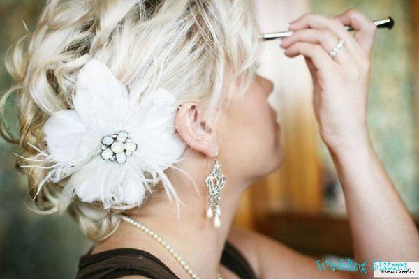 fryzura panny młodej