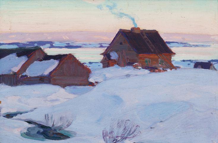 Clarence Alphonse Gagnon - Ferme De St. Antoine (Baie St. Paul, Vers 1923)