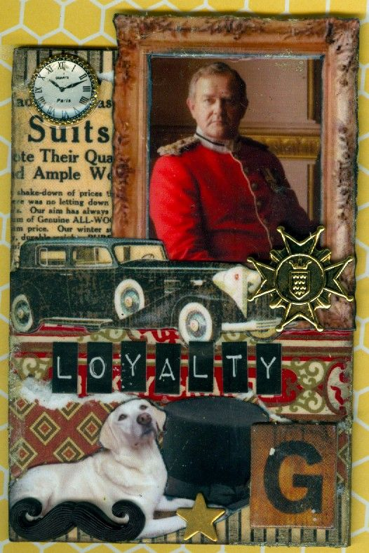 Lord Grantham (and Isis) ATC.